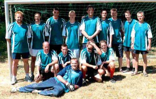 Gruppenbild Fussball