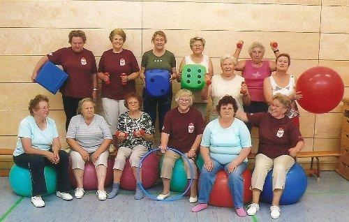 Gruppenbild Gymnastik Seniorinnen